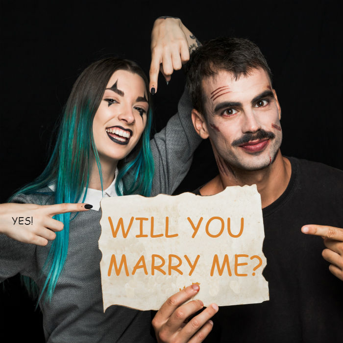 bowman-jewelers-halloween-couple-costume-proposal