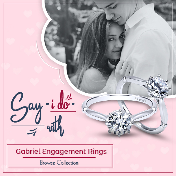Gabriel Engagement Rings at Bowman Jewelers