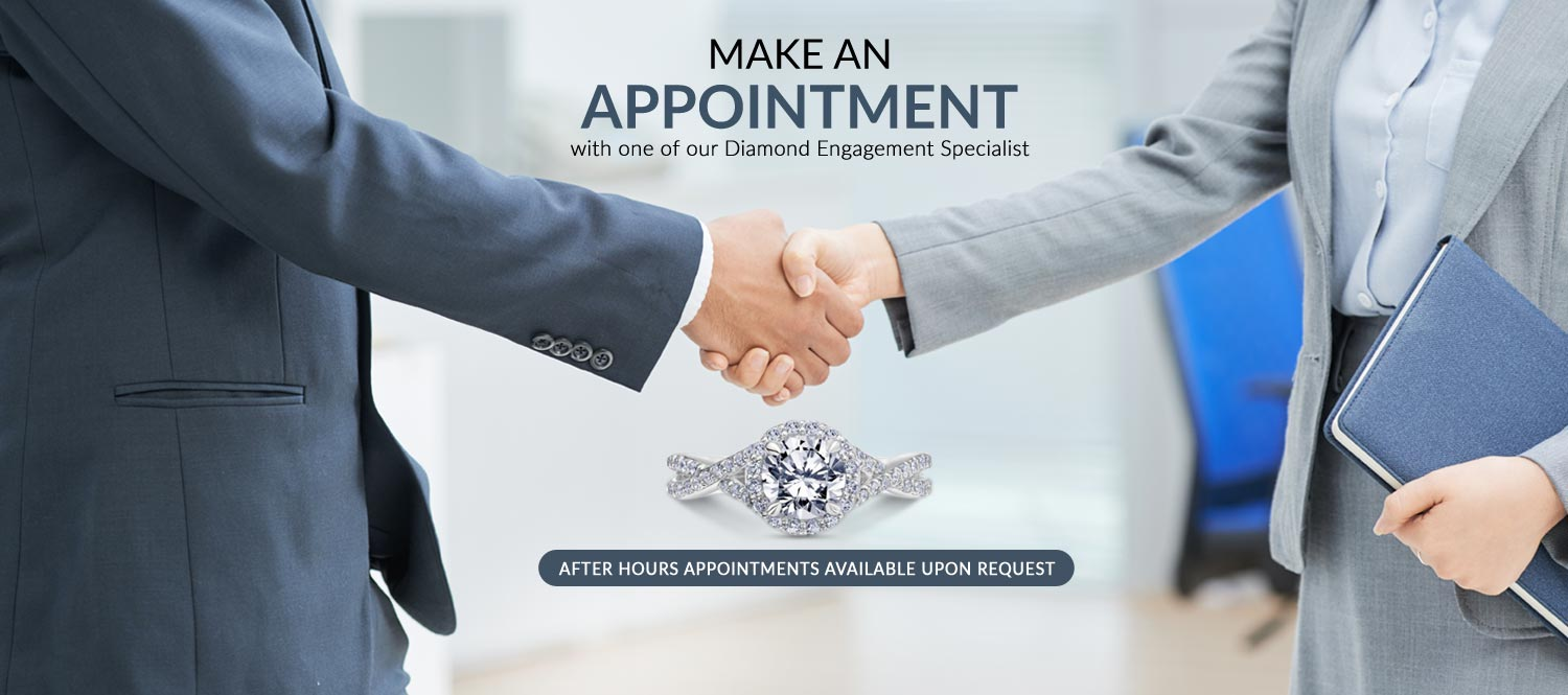 Book an Appointment with our Diamond Engagements Specialist At Bowman Jewelers