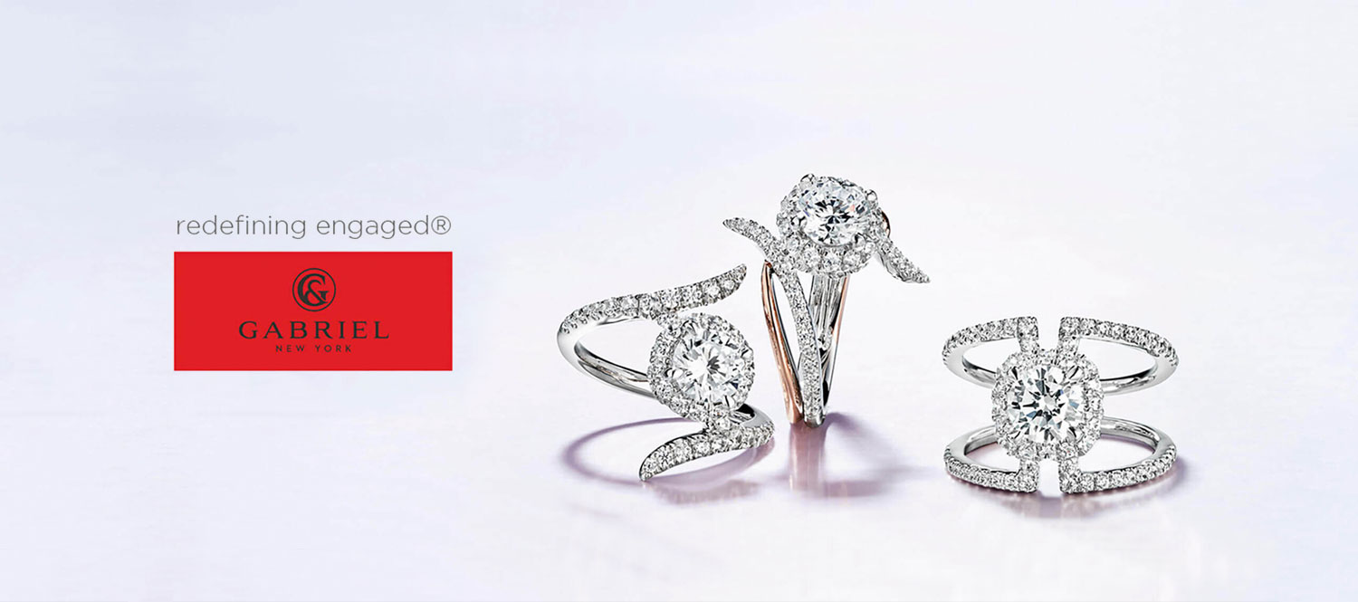 Gabriel Bridal Rings at Bowman Jewelers